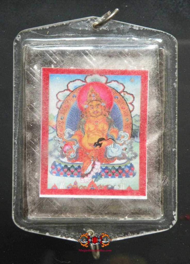 Great amulet of Jambhala fortune blessed by His Holiness the Dalai Lama