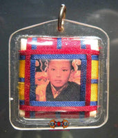 Yantra Amulet of His Holiness the Karmapa.