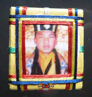 Black Mahakala Yantra Amulet by His Holiness the Karmapa.