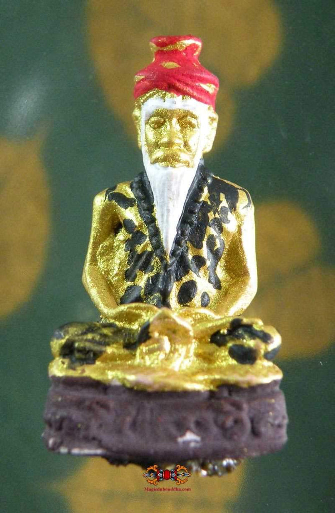 Lersi Tafai Amulet in sacred plant paste - Venerable LP Kian