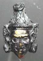 Lersi Mask Amulet - Very Venerable Lersi Peth Dam.