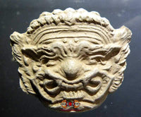 Amulet mask of Phra Pirab - Venerable Ajarn Noy.