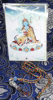 Orgyen Menla Tibetan Iron Phurba Amulet - Protection against disease.