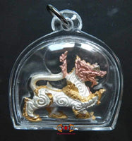 Singtho Mahabaramee Lion Amulet - Very Venerable LP Pian.