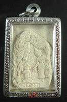 Amulet birth and footprint of Buddha Phra Puthabat - Wat Thung Tahin