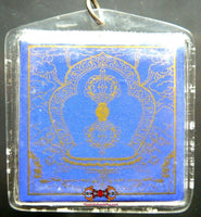 Grote Blue Touch Release Amulet - Tibetaanse amulet