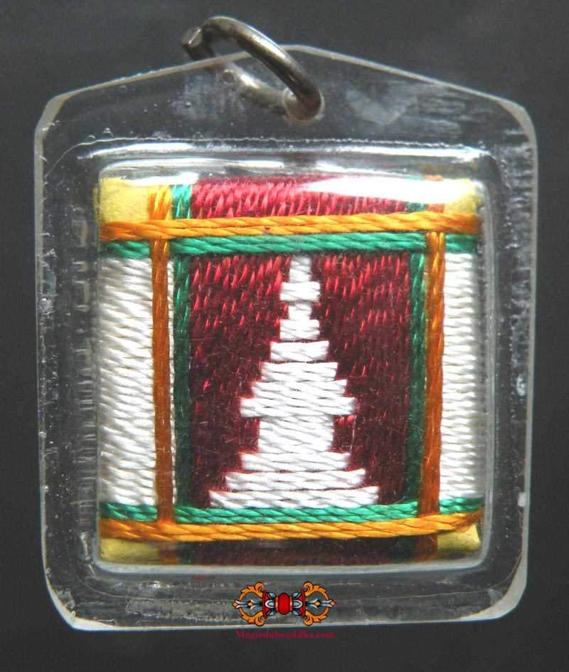 Lokeswor's Yantra Tibetan Amulet - General protection and good luck.