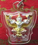 Gold Garuda Amulet / Rose Gold / Silver