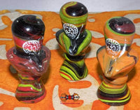 Yoni Lingam Multicolored Glass Paste - 2 Available Sizes