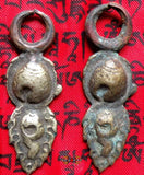 Curiosity: Ancient Thogchag: Pair of Statue Earrings!