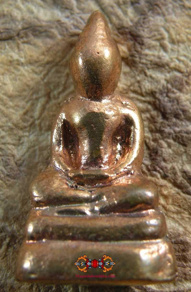 Alchemical Copper Buddha - Wat Puthai Sawan