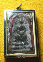 Precious Alchemical glass Phra Somdej amulet