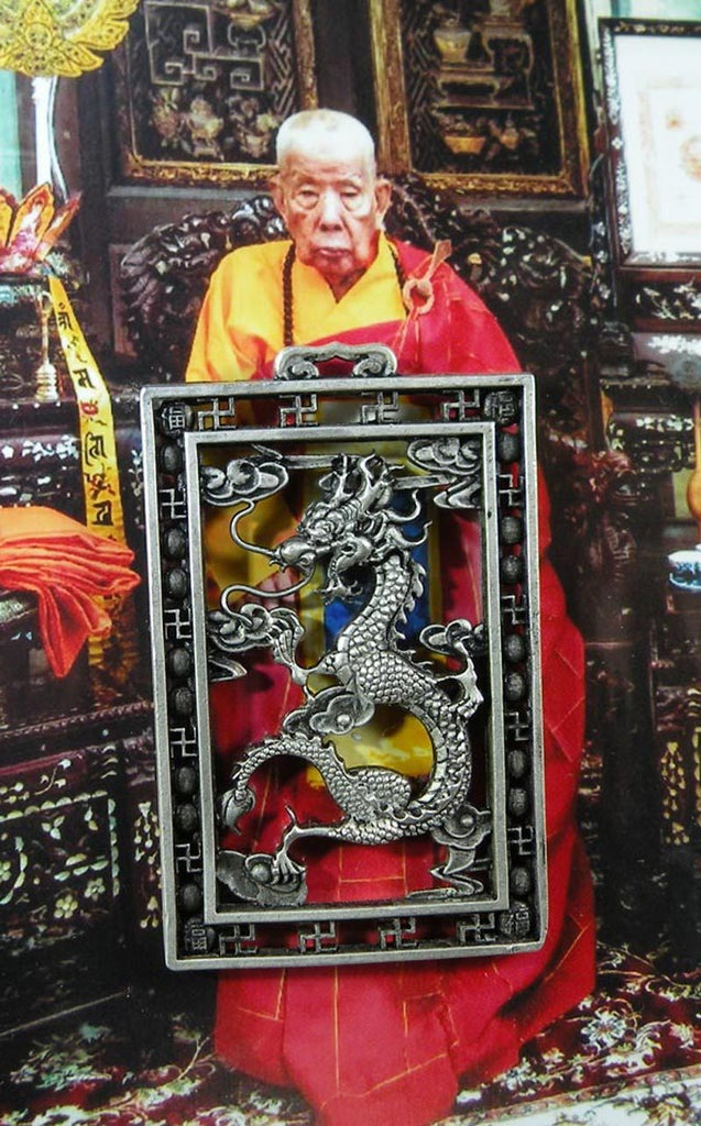 Chinese Dragon Amulet of the Most Venerable Phra Maha Kananamtham Panyathiwat.