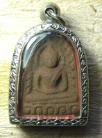 Phra Sumkho Fortune Amulet - Lek Nam Pee + Alchemical Glass