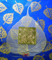 Magic protection for car - Buddha tree leaf.