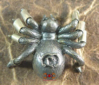 Meng Mum Riak Sap Spider makeshift amulet - Very Venerable LP Suppah.