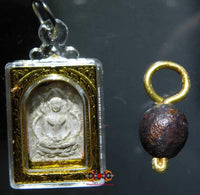 Look Aum Buddha and Ball Amulets - Very Venerable LP Thongpoon.
