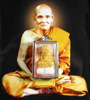 LP Thuat Miraculous Amulet - Most Venerable LP Dooh