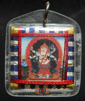 Yantra Amulet of Mahakala white - Fortune and fulfill the wishes