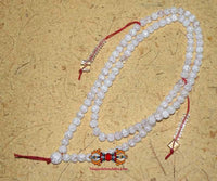 Tibetan Mala 100% Quartz - For purification practices.