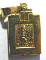 Magnetic medal of the Chinese fortune Buddha Phra Sanghajaï.