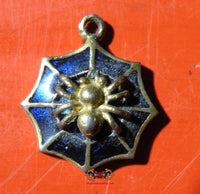 Maeng Mum Riak Sap Spider Amulet - Very Venerable LP Suppah.