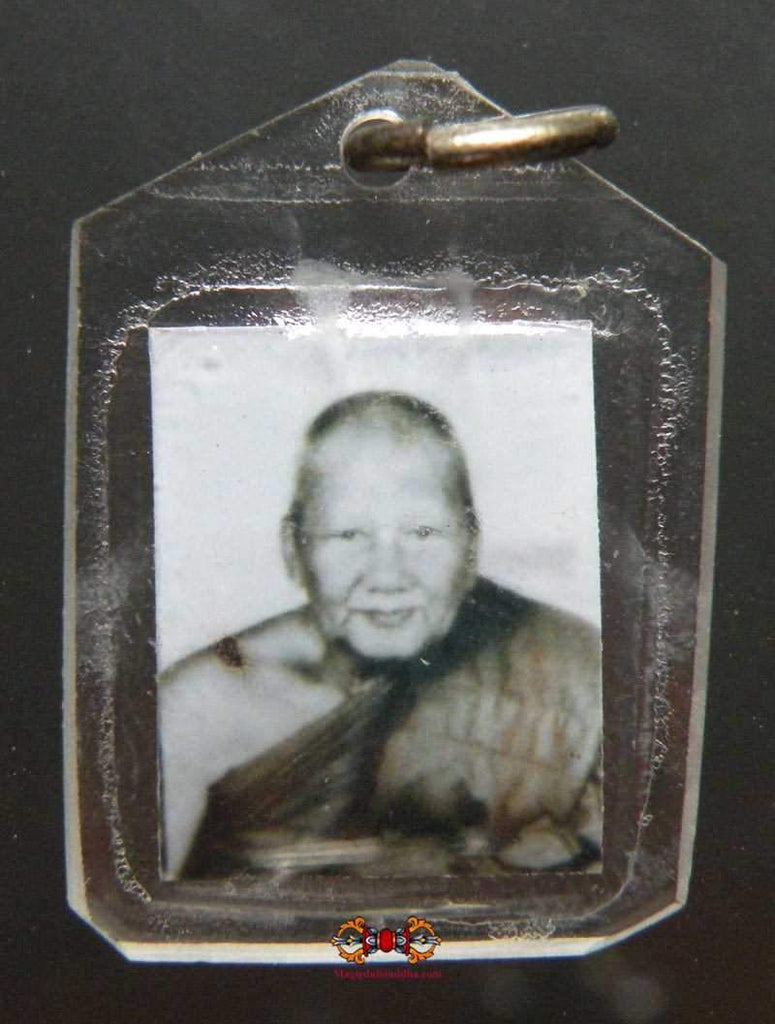 Blessed photo amulet of the Most Venerable LP Pern.