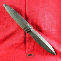 Phra Karn dagger in black sacred wood Paya New Dam