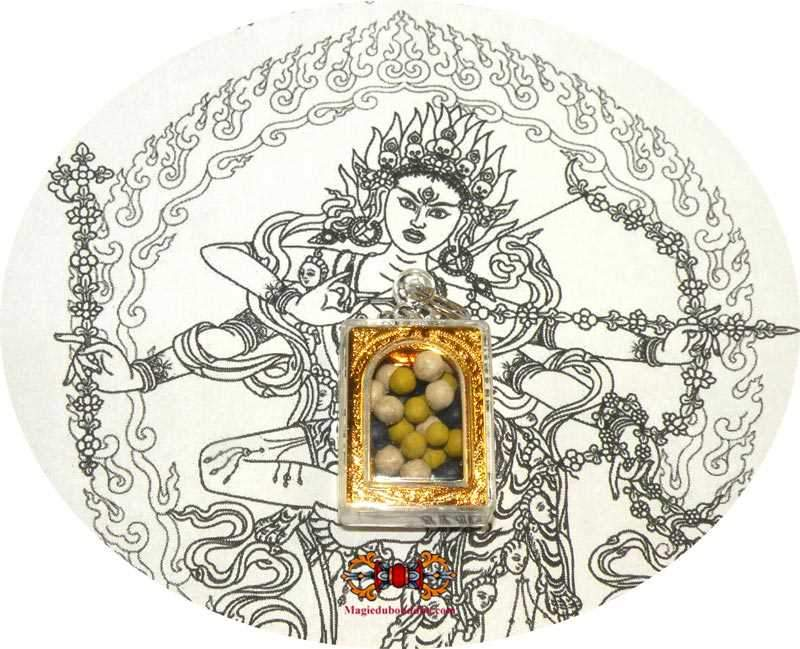 Amulet sacred pills Rilbu of Kurukullé (dakini of magic and enchantments).