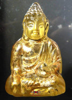 Glass Buddha statuette - Venerable Phra Ajarn Challo.