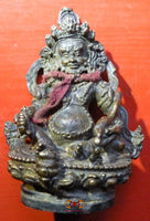 Ancient Tibetan statue of Dzambhalla.