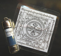 Powerful Mantra Shi-Tro Amulet