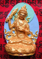 Beautiful Tibetan Tsa Tsa of Manjushri.