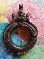 Very beautiful old Ganesh ring / amulet.