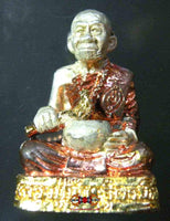 Exceptional Roop Lor amulet of the Most Venerable LP Kui