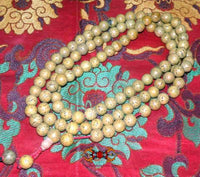 Tibetan mala in polished Bodhi seeds Indian Bodhi -