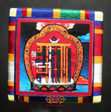 Amulette Tibétaine Yantra Wangthang - Tradition Bönpo.