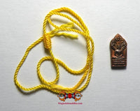 Blessed Saï Sin bracelet + Phra Naphrok amulet - Most Venerable LP Sawai.