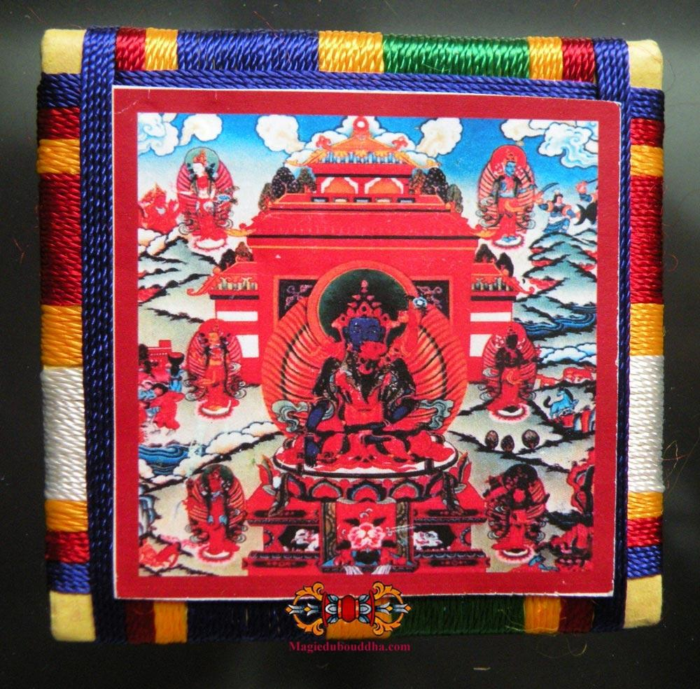 Bönpo Amulet Ma-Tri Sungkhor - Amulet of liberation by the touch.