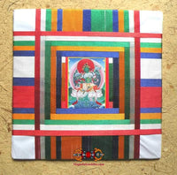 Yantra XXXL Talisman of Green Tara or Mahakala White - Protection for Home