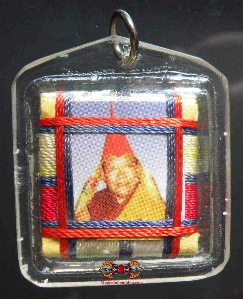 Yantra Amulet blessed by Most Venerable Trulshik Rinpoche