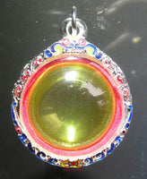 Superb large sacred stone pendant