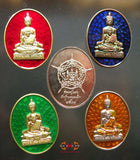 Colorful medals LP Sothorn / Roop Lor - Very Venerable LP Saen.