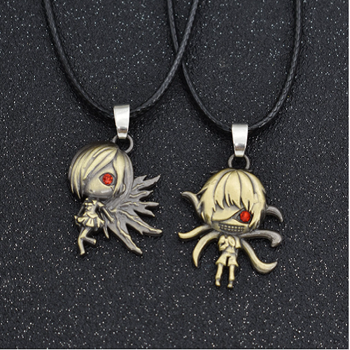 Fashionable Anime Necklace Long Rope  Couple Necklace