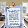 """We Hugged"" this Customized Blanket for Grandma/Grandpa/Mamma/Papa/Auntie"