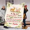 """To My Dad The World Wouldn't Shine So Bright "" Customized Blanket For Dad"