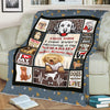 """Home Is Where Your Golden Retriever Is"" Personalized Blanket For Your Dog"