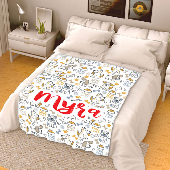 Customized Blanket For Your Pet