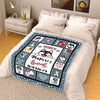Customized Fleece Blanket For Your Dog