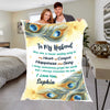 """You Are A Never Ending Song In My Heart Of Comfort"" Customized Blanket For Husband"